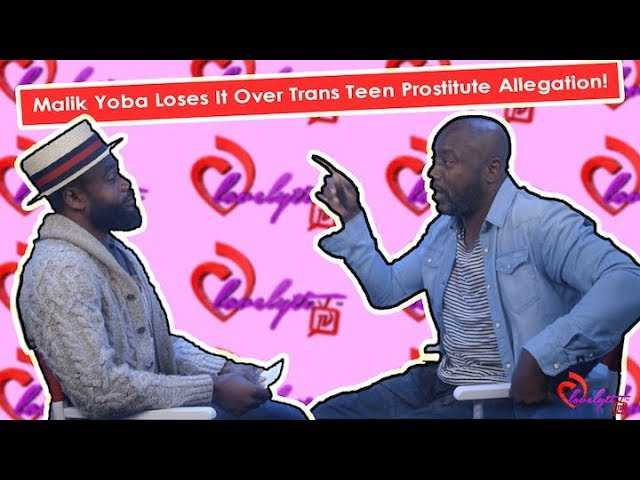 Malik Yoba Storms Off Set After Being Questioned about Allegations of Soliciting Sex From Minors