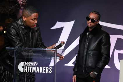 YG and Tyga attends the Variety Hitmakers Brunch presented by Citi in Los Angeles, CA on December 7, 2019.