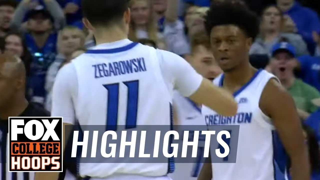 Creighton sails past Cal Poly 86-70 with double figures all starters | FOX COLLEGE HOOPS HIGHLIGHTS