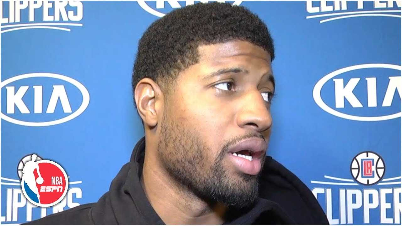 Paul George disappointed with his play in his debut with Clippers   NBA Sound