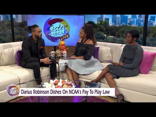 Sister Circle   Darius Robinson Talks Finances And Football   TVONE