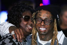"MIAMI, FLORIDA - FEBRUARY 01: Lil Wayne attends Lil Wayne's ""Funeral"" album release party on February 01, 2020 in Miami, Florida.[. (Photo by Jeff Schear/Getty Images for Young Money/Republic Records)"