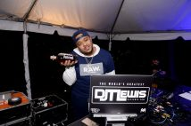 "MIAMI, FLORIDA - FEBRUARY 01: DJ T. Lewis spins during Lil Wayne's ""Funeral"" album release party on February 01, 2020 in Miami, Florida. (Photo by Daniel Boczarski/Getty Images for Young Money/Republic Records)"