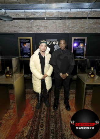 Multi-platinum rapper and entrepreneur Pusha-T and fashion designer Rhuigi Villaseñor attend Maison Courvoisier on Saturday, February 15, 2020. Highlighting the achievements and creativity of artists with whom he has a personal connection, Pusha-T hand-selected the artisans to showcase their work at Maison Courvoisier and celebrate the power of shared success. (Photo by Jeff Schear/Getty Images for Courvoisier Cognac)