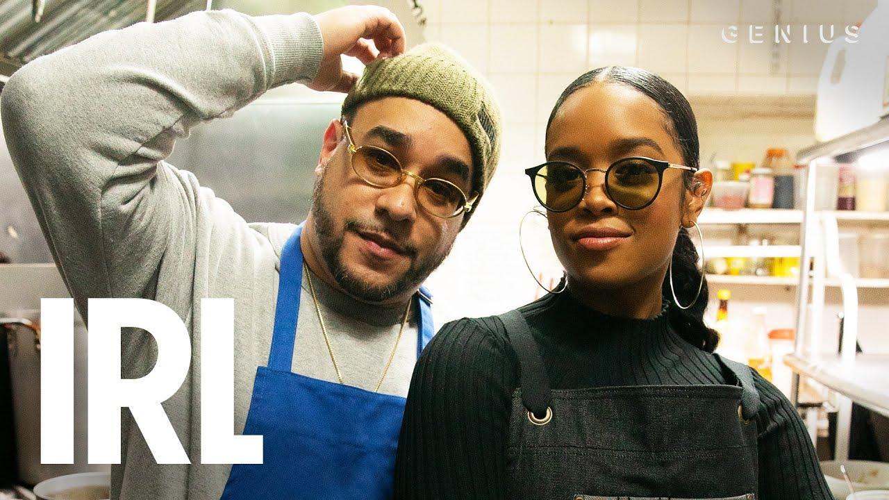 H.E.R. Reflects On Black Music History & Cooks Filipino Food   Genius IRL
