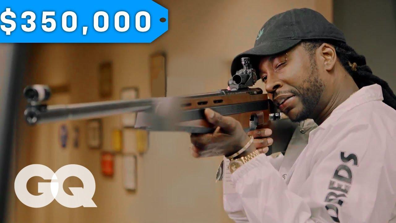 2 Chainz Checks Out a $350K Gun on GQ's Most Expensivest Sh*t [Video]