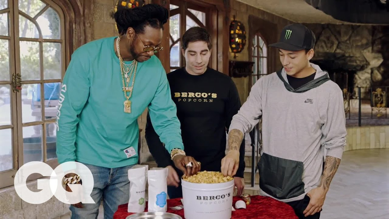 2 Chainz Eats Gold-Coated Billion Dollar Popcorn on The Most Expensivest Sh*t (GQ webisodes) [Video]