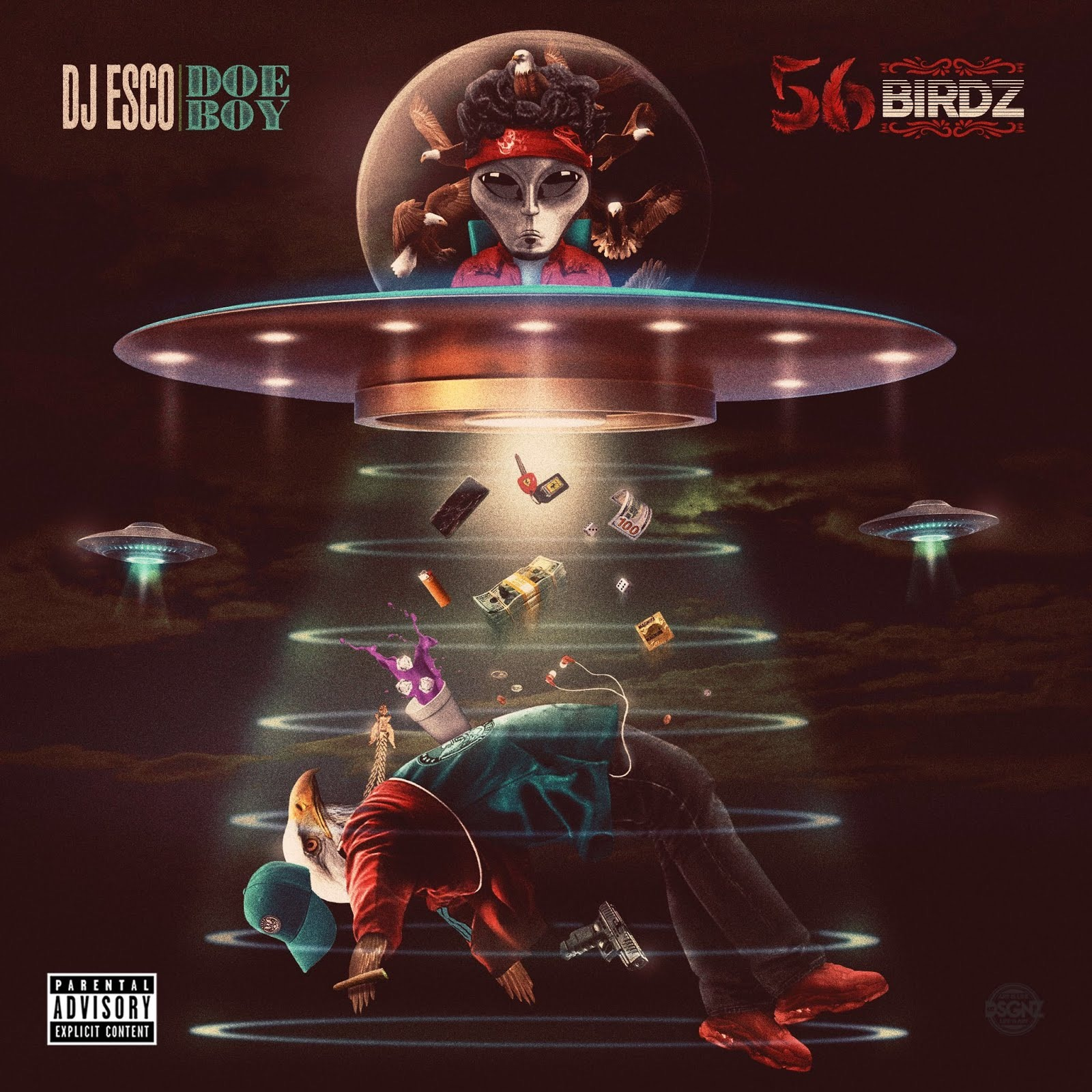 DJ ESCO & Doe Boy - 56 BIRDZ