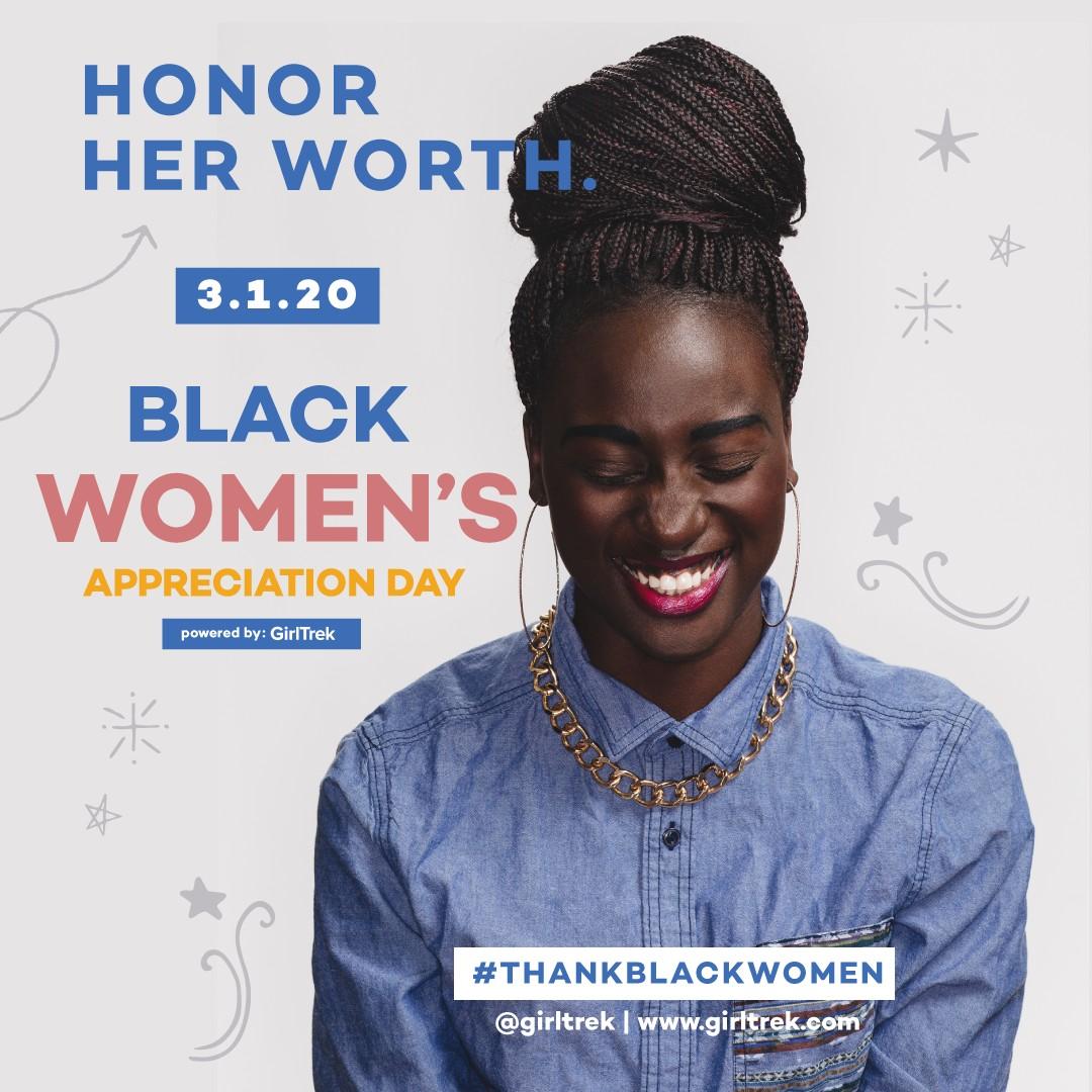 GirlTrek Leads National Effort to #ThankBlackWomen by Declaring March 1, 2020 as Black Women's Appreciation Day