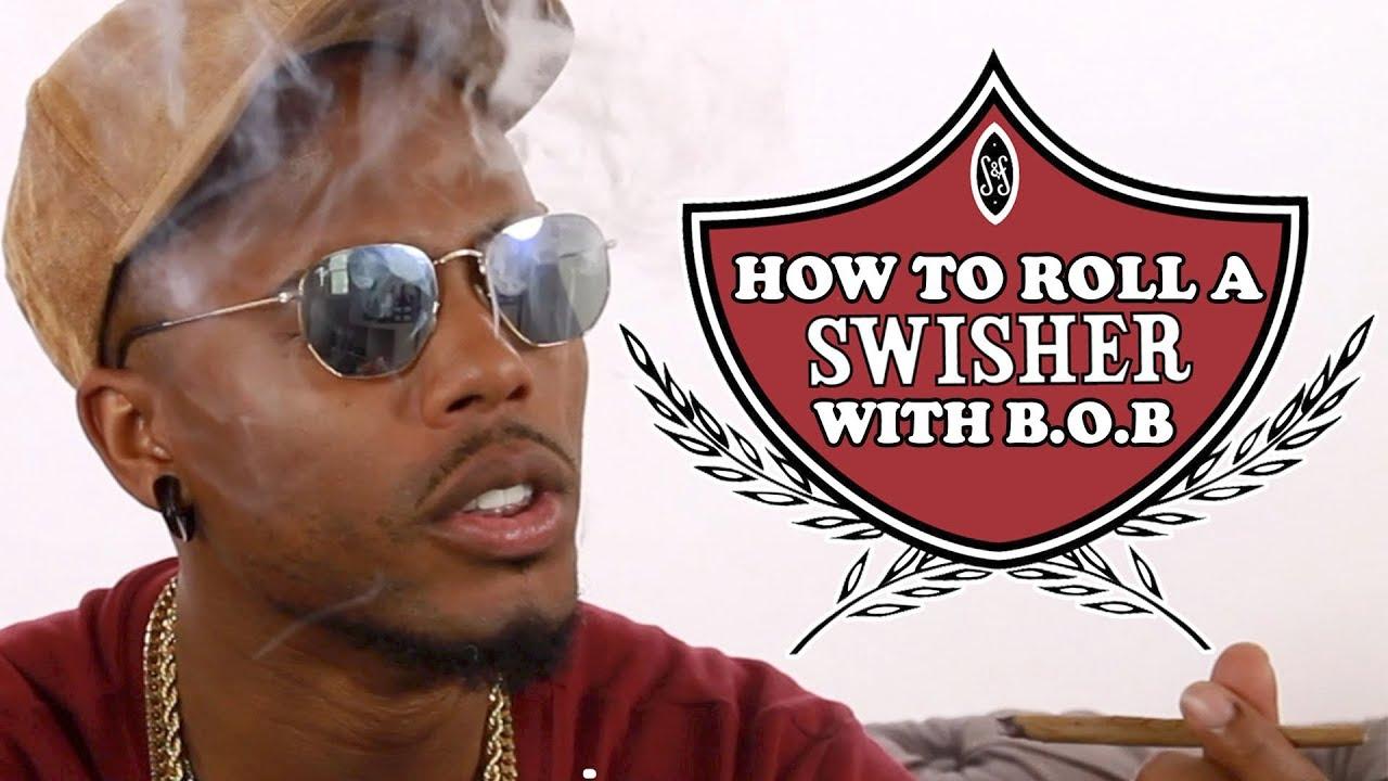 B.o.B Teaches How to Roll a Swisher