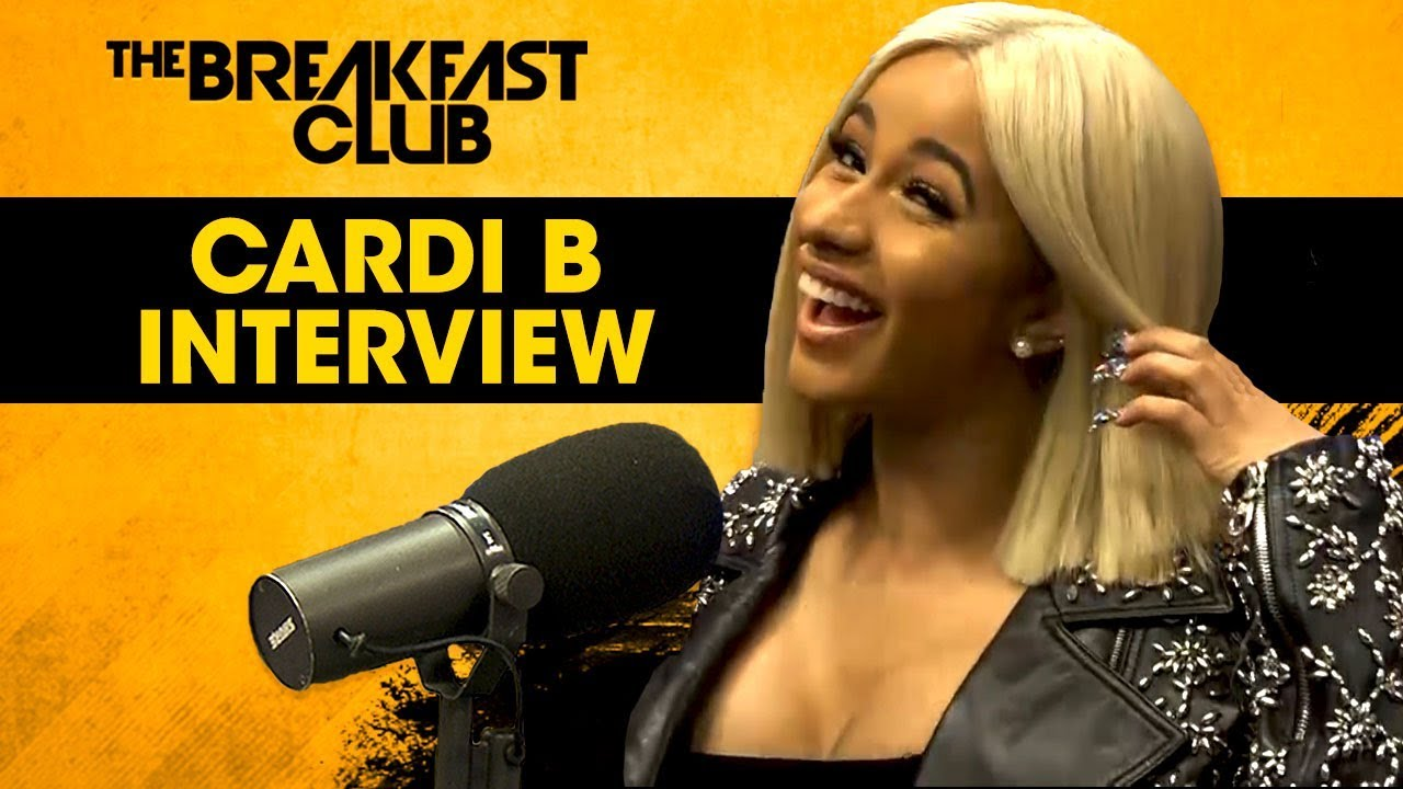 Cardi B Talks Dating Offset, Nicki Minaj, 9 BET Nominations on The Breakfast Club