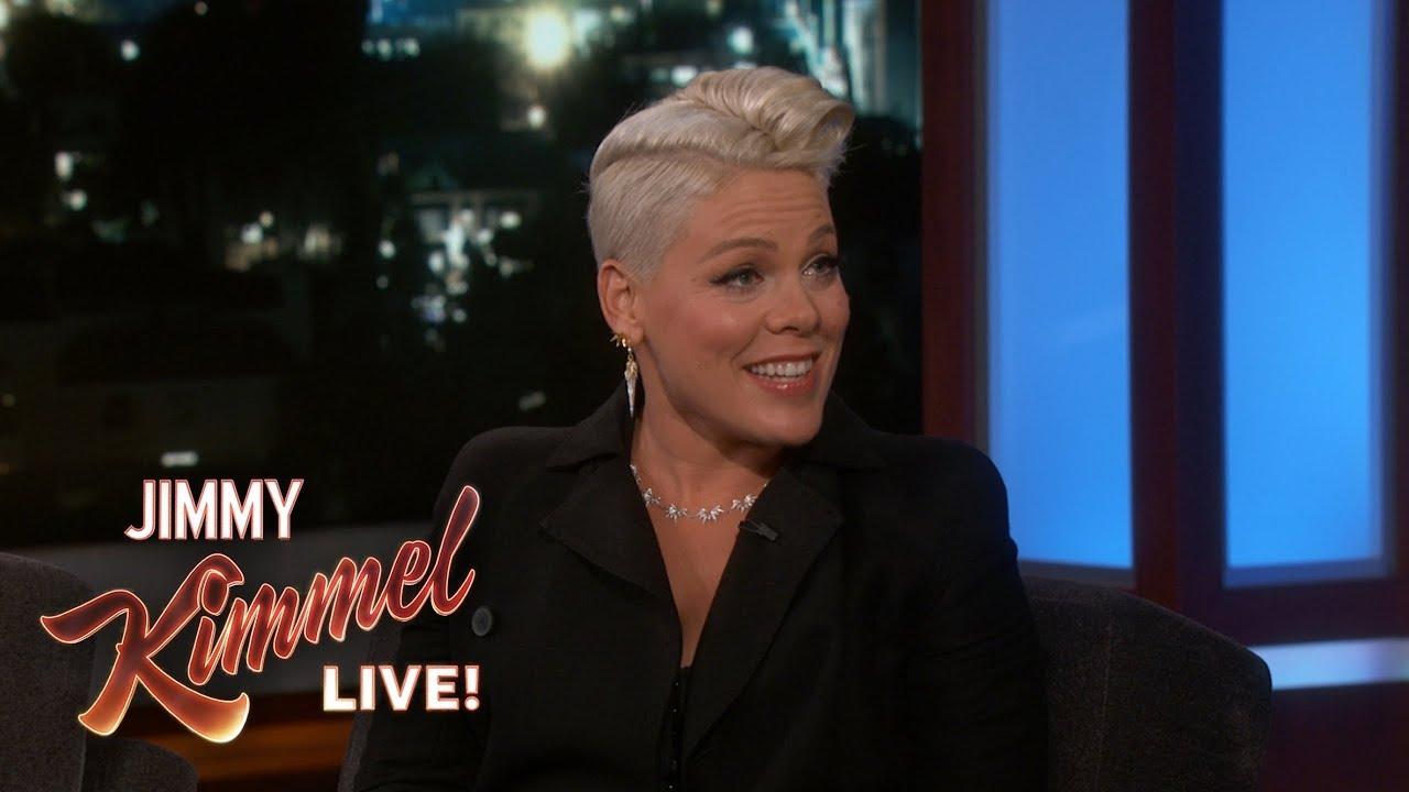 Channing Tatum Interviews P!nk on Kimmel [Interview]