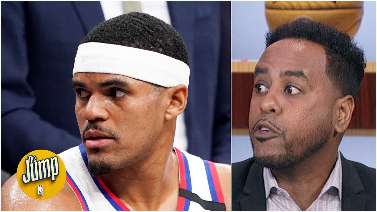 It's unacceptable that Tobias Harris took so few shots with Embiid out - Amin Elhassan   The Jump