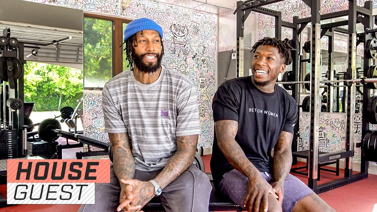 James Johnson's Gym Monsters | Houseguest With Nate Robinson | The Players' Tribune