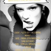 Watch: JESSIE J LIVE AT HOME MARCH 27 AT 12P PT / 3P ET