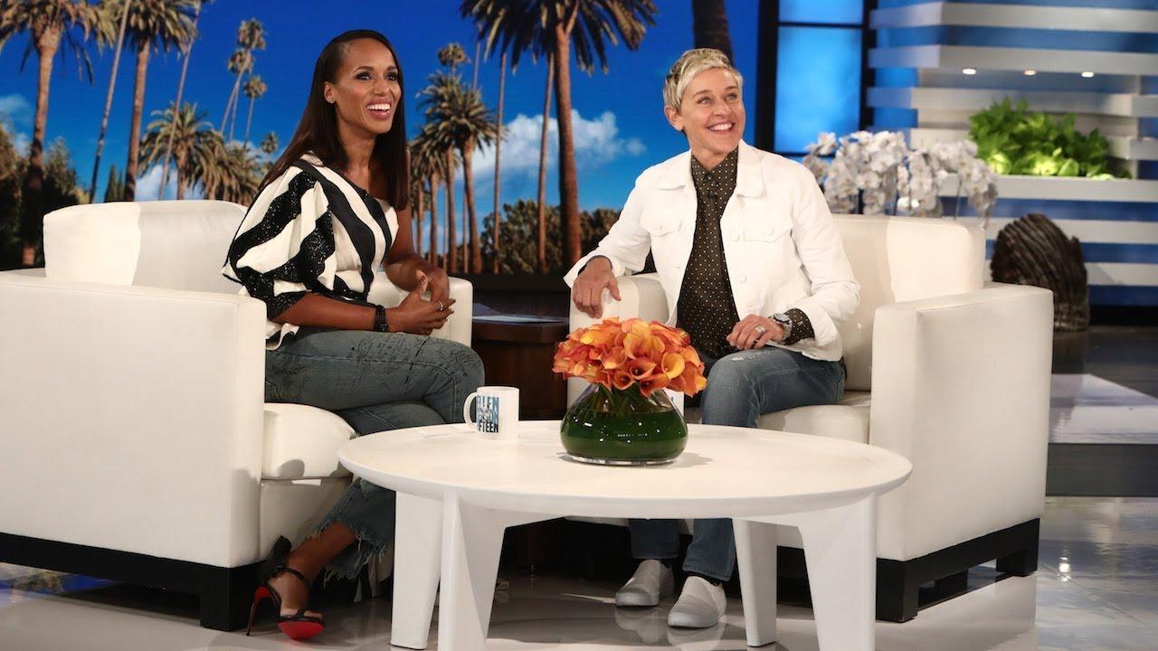 Kerry Washington Talks Women Supporting Women with Ellen [Interview]