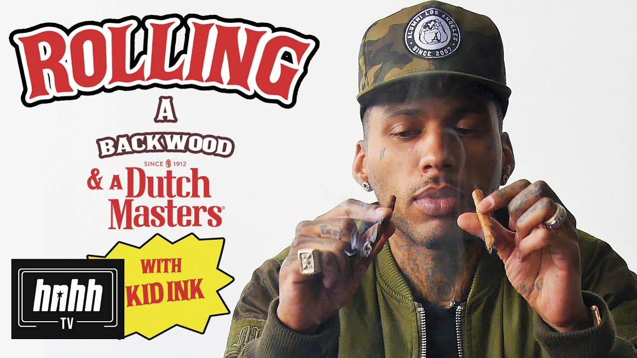 Kid Ink on How to Roll a Backwoods & a Dutchmasters [Video]