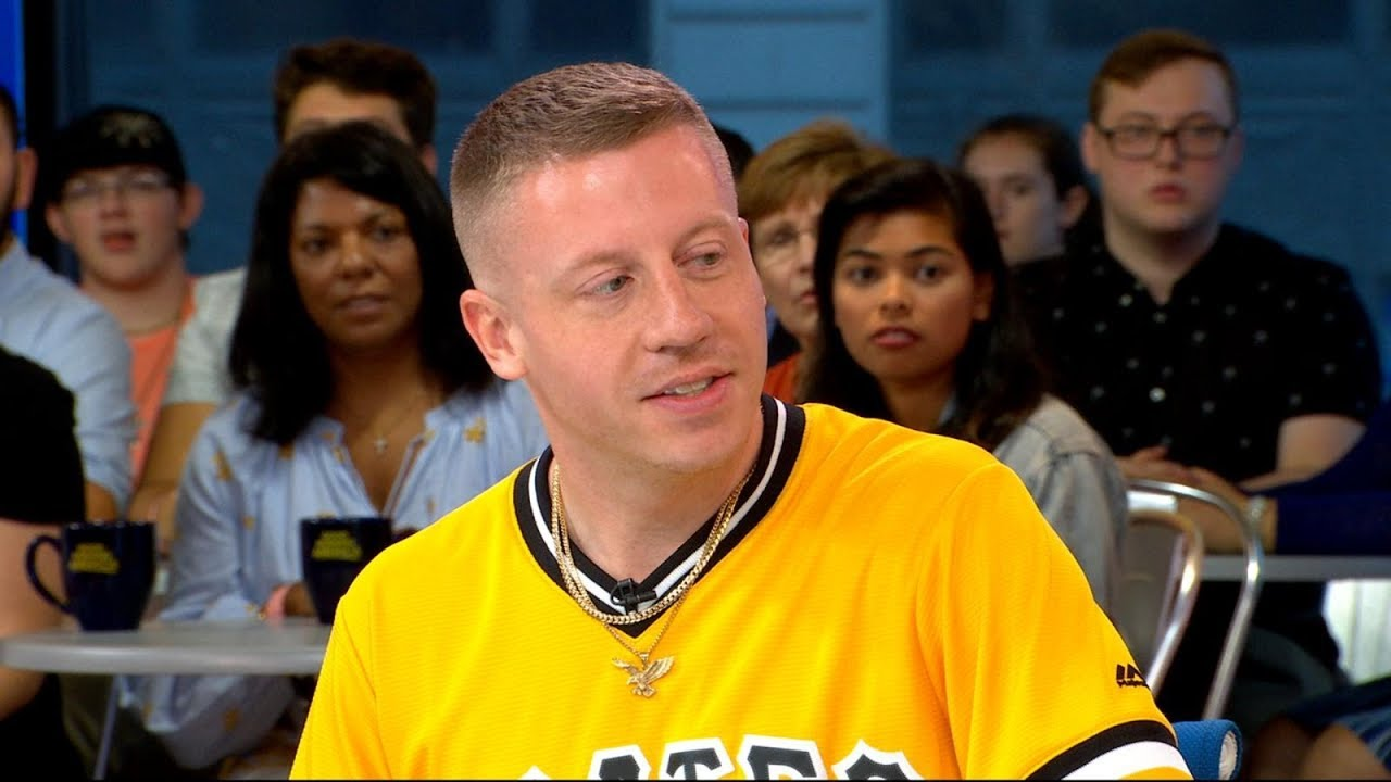Macklemore Talks Shooting a music video with his 100-year-old grandmother
