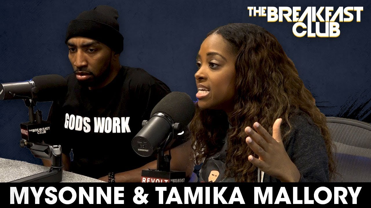 Mysonne & Tamika Mallory Talks American Airlines Incident on The Breakfast Club