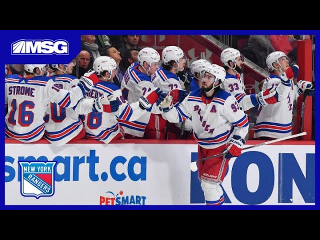 Rangers Continue To Roll, Win 9th Straight On The Road | New York Rangers