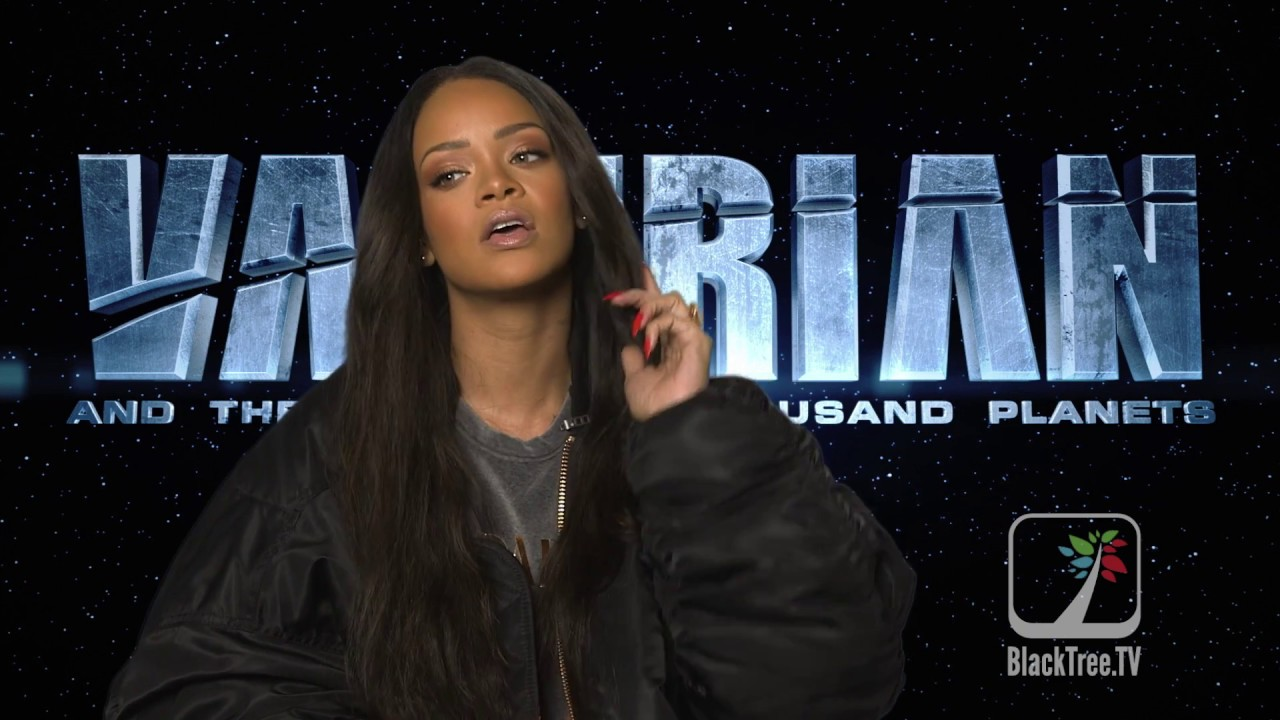 "Rihanna Talks About Her Role in the Movie ""VALERIAN"""