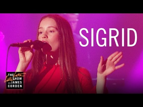 """Sigrid Performing """"Don't Kill My Vibe"""" on James Corden"""