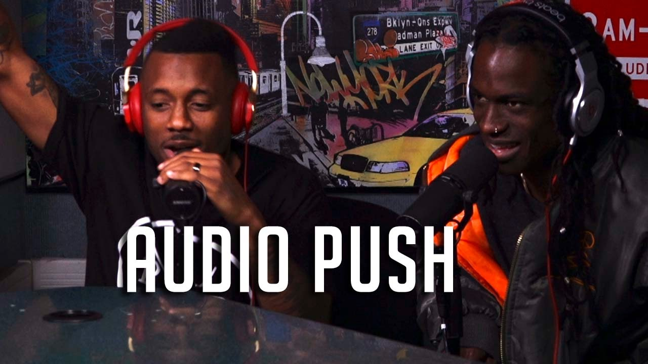 Video: Audio Push Talks 90951 & Freestyles on Ebro In The Morning