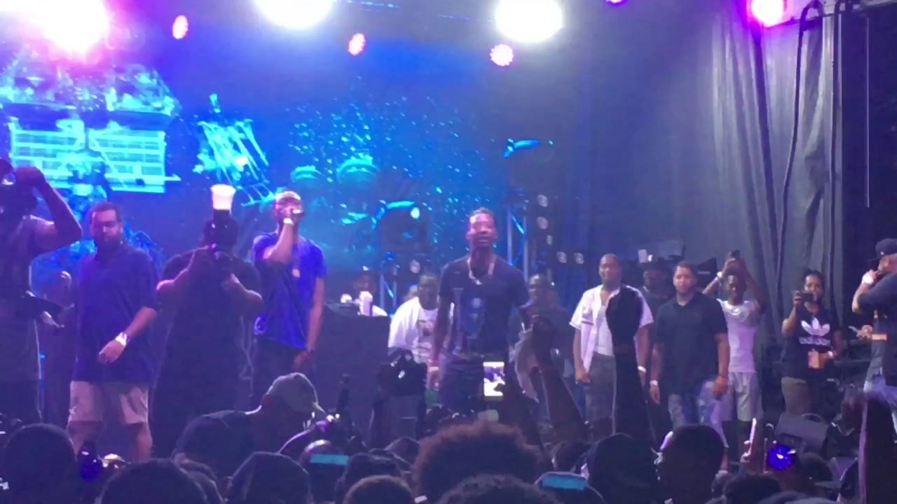 Watch: Pusha T Brings Out Desiigner in The BX [Video]