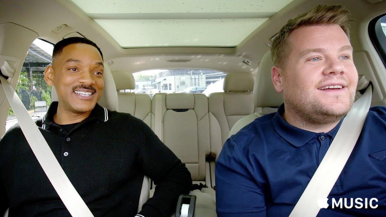 Will Smith and James Corden Get Jiggy Wit It on Carpool Karaoke