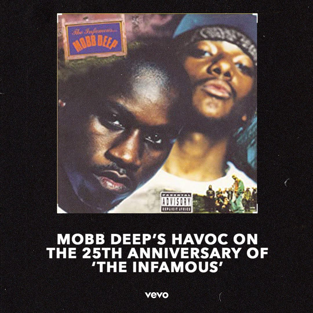 Mobb Deep's Producer Havoc Talks with Vevo for The Infamous 25th Anniversary