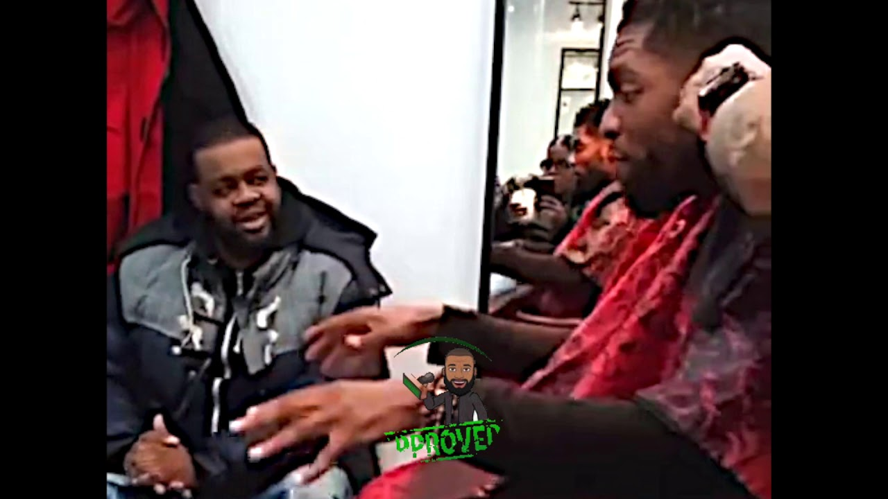 """LOADED LUX TALKING POWERFUL AT THE BARBERSHOP """"IT'S ABOUT TO BE A CULTURAL SHOCK"""""""