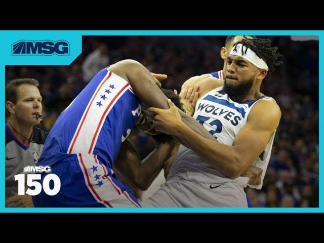 Was Joel Embiid Just Actin' a Fool in Rumble With Karl-Anthony Towns? | MSG 150