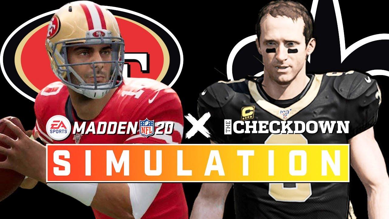 49ers vs. Saints Week 10 Full Game | Madden 2020 Season Simulation