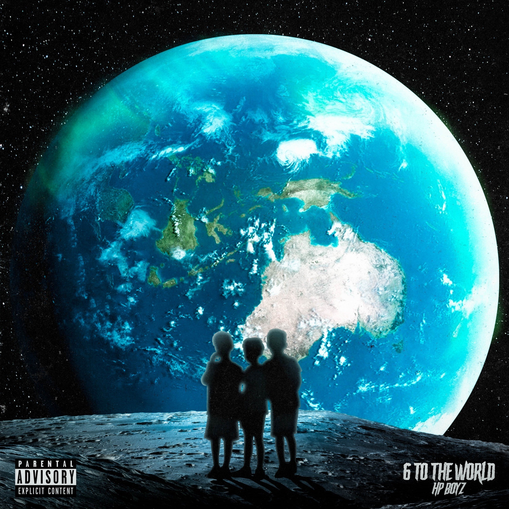 Hp Boyz - 6 To The WORLD [EP Stream]