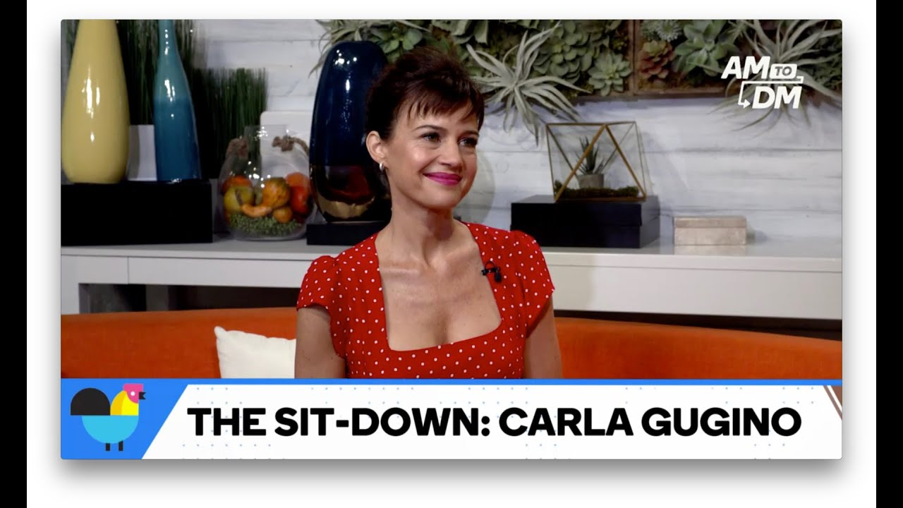 "Carla Gugino Plays A Badass Woman On New Show ""Jett"""