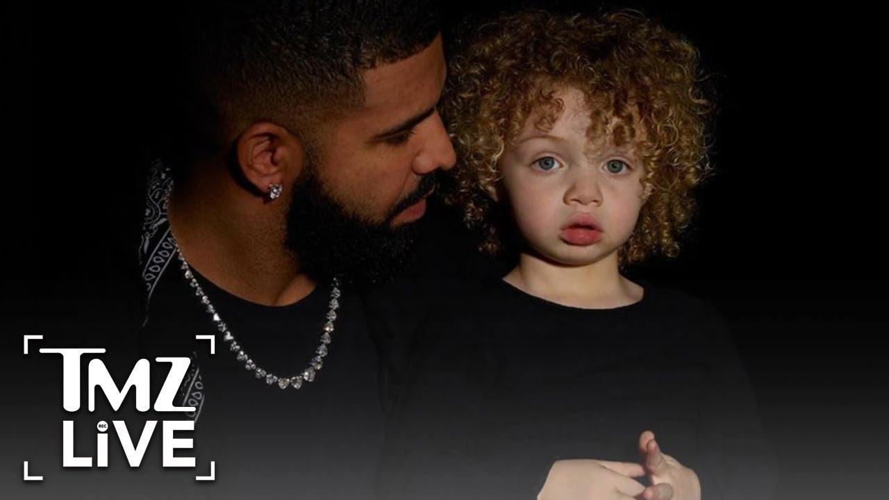 Drake Shares First Photos of His Son, Adonis | TMZ Live