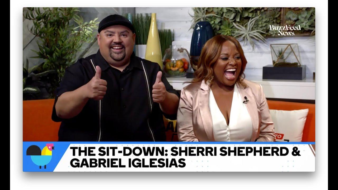 "Gabriel Iglesias & Sherri Shepherd Talk ""Mr. Iglesias"""