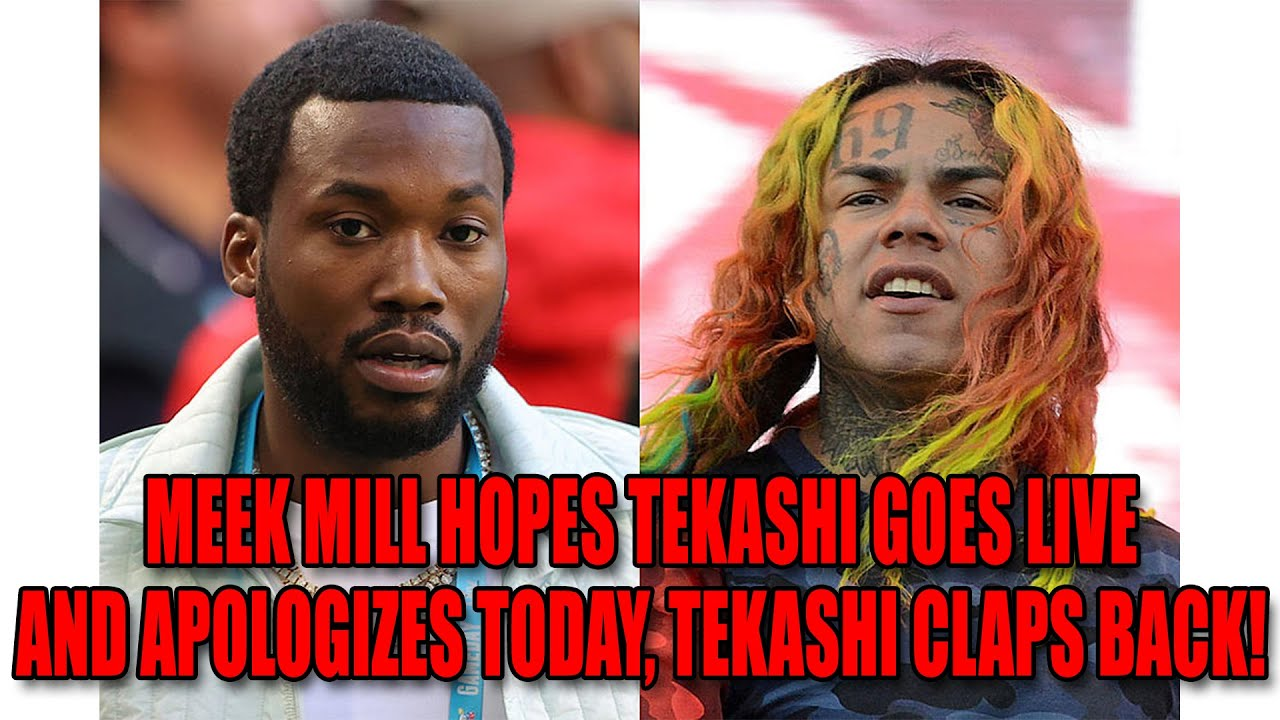 Meek Mill Says Tekashi Should Go Live And Apologize For Being A Rat, Tekashi Claps Back!