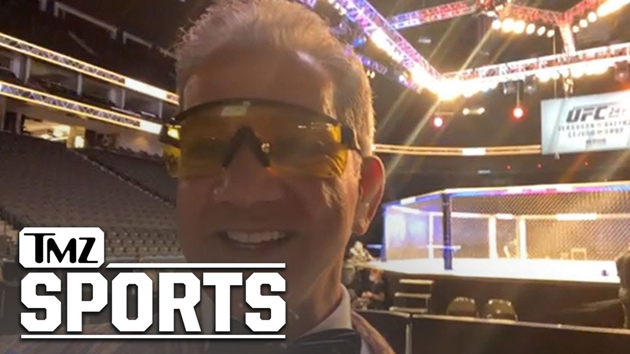 UFC Announcer Bruce Buffer Says UFC 249 Raging Success