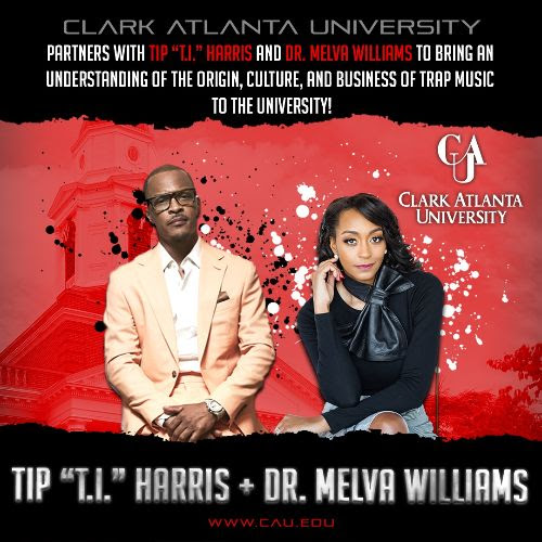 """TIP """"T.I."""" HARRIS PARTNERS WITH CLARK ATLANTA UNIVERSITY TO BRING """"BUSINESS OF TRAP MUSIC"""" TO STUDENTS"""