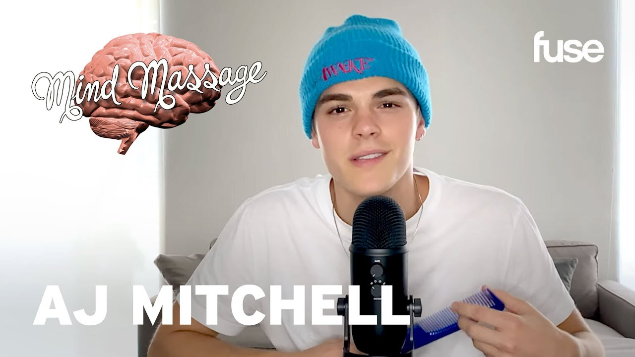 """AJ Mitchell Does ASMR with Sand, Talks """"Used To Be"""" & Mastering His Craft 