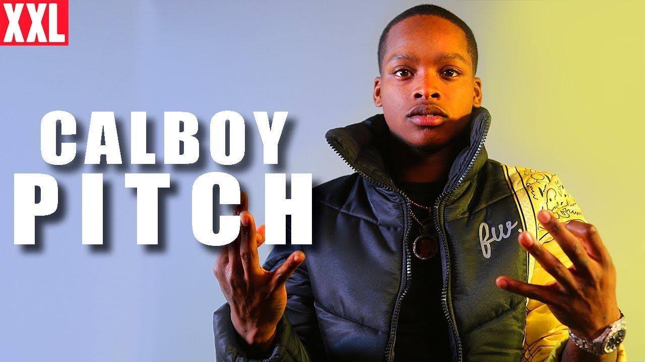 Calboy's 2020 XXL Freshman Pitch