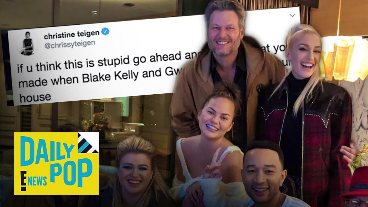 """Chrissy Teigen Pissed at Hubby Over Surprise Dinner With """"Voice"""" Costars 