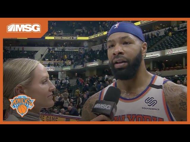 """I Got Hot"" Knicks Kept Momentum Going Towards The End Against Pacers   New York Knicks"