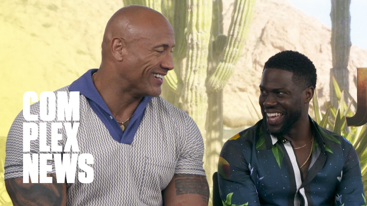 The Rock and 'Jumanji: The Next Level' Cast On Which Rapper They Would Be