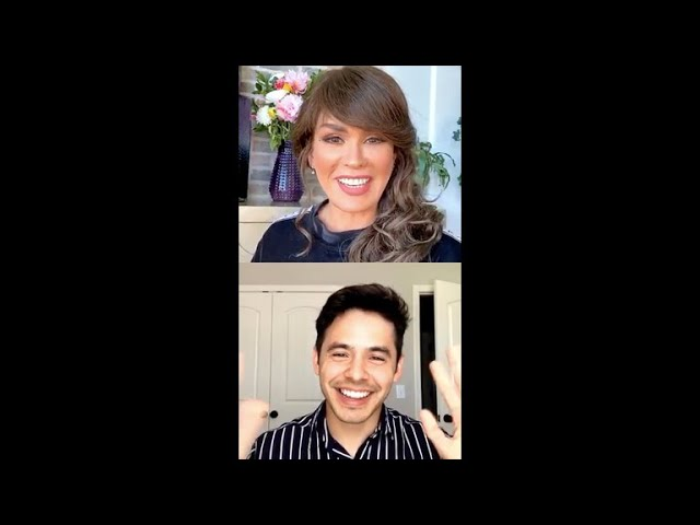 The Talk Chat Room With Marie Osmond and David Archuleta