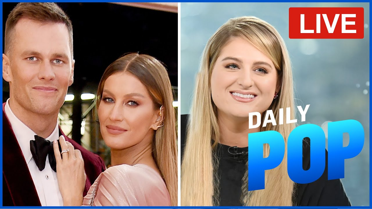 Tom Brady & Gisele's Marriage Issues & Meghan Trainor's Live Interview - Daily Pop Live! | E! News