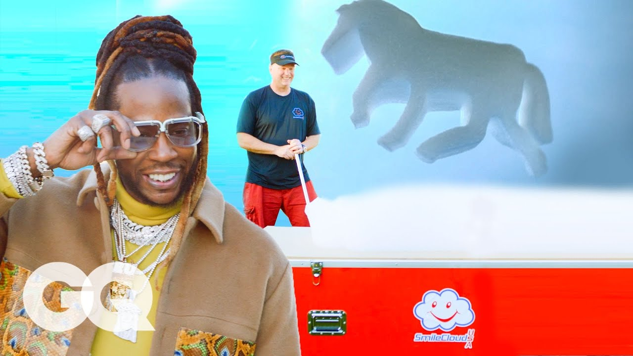 2 Chainz Checks Out $9K Floating Foam Clouds   Most Expensivest   GQ & VICE TV