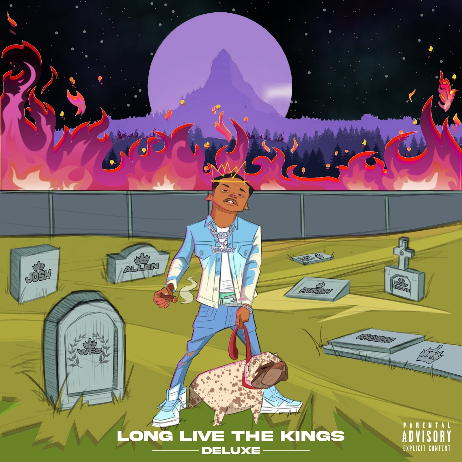 Calboy - Live The Kings (Deluxe Edition)