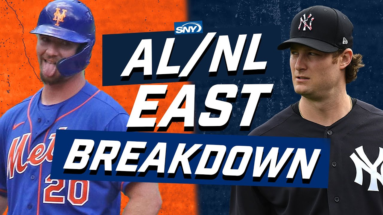 A preview of the crazy competition in the AL and NL East | Baseball Night in New York | SNY